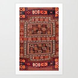 Luri Bakhtiari Khorjin Fragment Print Art Print