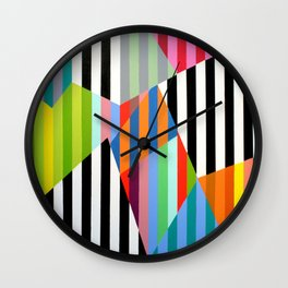 Candy Pop No2 Wall Clock