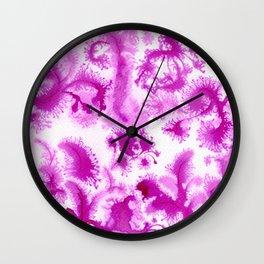 Pink culture Wall Clock