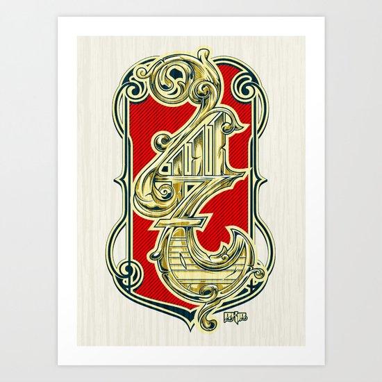 4117 Art Print