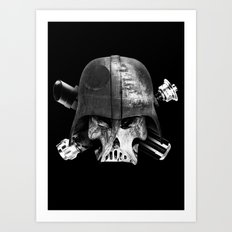 Darth Bones Art Print