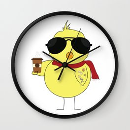 Cool Chick Wall Clock