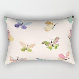 Beautiful Butterflies Rectangular Pillow