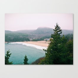 Sand Beach, Mount Desert Island, Maine Canvas Print