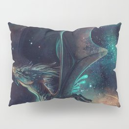 Galaxy Dragon Pillow Sham