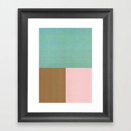 Seaside Sorbet Framed Art Print