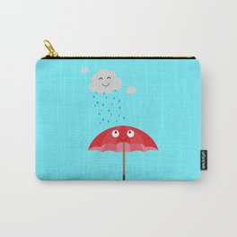Rain cloud and umbrella   Carry-All Pouch