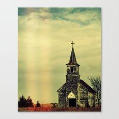 Creeper Church Canvas Print
