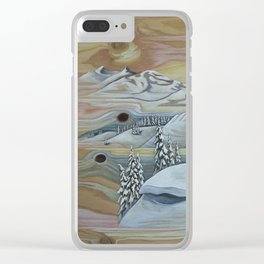 Hurricane Ridge Clear iPhone Case
