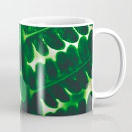 Electric Green Fern Coffee Mug