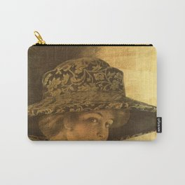 Golden victorian lady Carry-All Pouch