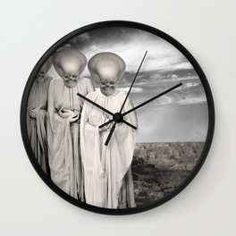 THE LAST LAUGHS Wall Clock