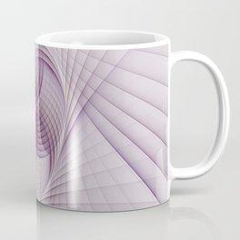 Graphic Design, Fractal Art Pattern With Pink Coffee Mug