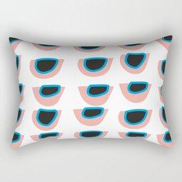 Cat eye pop-art abstract figure Rectangular Pillow