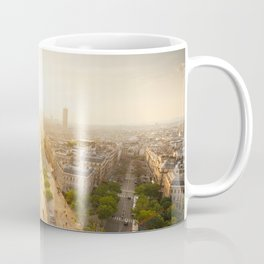 Champs Elysees From the Top Coffee Mug