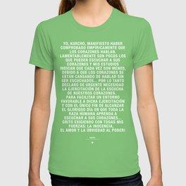 Manifiesto Kurcho - Español T-shirt