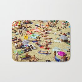 Beach pattern Bath Mat