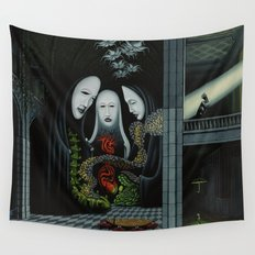 Living Through Secrets / Terms of Precedence Wall Tapestry