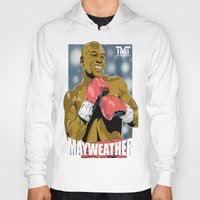 floyd Hoodies featuring Floyd Mayweather by Averagejoeart