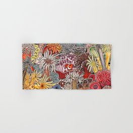 Clown fish and Sea anemones Hand & Bath Towel