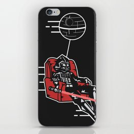 Darth Lounging iPhone Skin