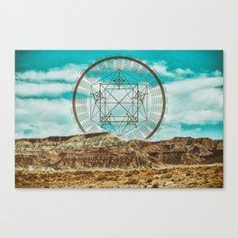 A Cloudy Vantage Canvas Print