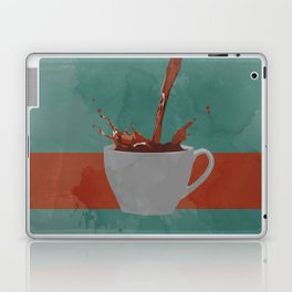 Caffeine splash Laptop & iPad Skin