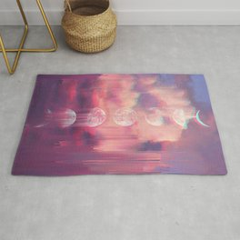 Moontime Glitches Rug
