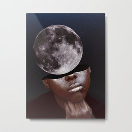 I was thinking of you. Metal Print