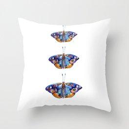 Watercolor Butterflies Butterfly Art Throw Pillow