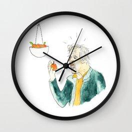 Gary Busey Eats a Peach Wall Clock