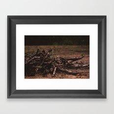 wooden soul Framed Art Print