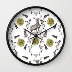 Flora & Fauna Wall Clock