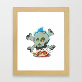 That's a Spicy Meatball Framed Art Print