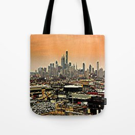 Philly Spread Tote Bag