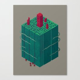 Within the Maze Canvas Print