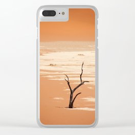 NAMIBIA ... Deadvlei Clear iPhone Case