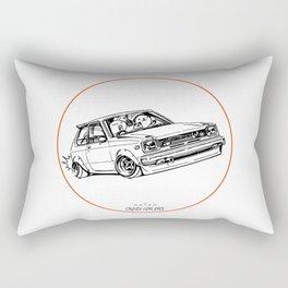Crazy Car Art 0194 Rectangular Pillow