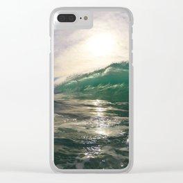 Marine St Shorebreak Clear iPhone Case