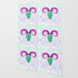 aries neon Wallpaper
