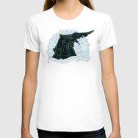 pacific rim T-shirts featuring Pacific Rim - Starry Kaiju by Charleighkat