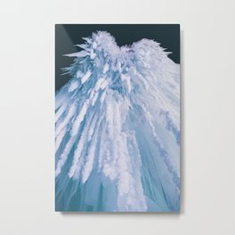 Icicle Art Metal Print