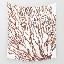 Coral Sea Fan Wall Tapestry