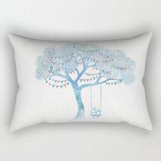 The Start of Something Rectangular Pillow