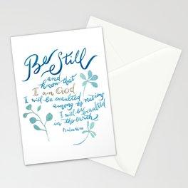 Be Still - Psalm 46:10 Stationery Cards