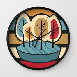 Humble Pie Wall Clock