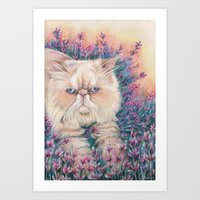 melissa smith Art Prints featuring Melissa by RayneColdkiss
