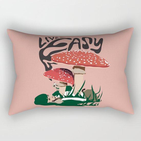 Live Easy Rectangular Pillow