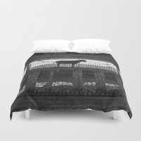 goat Duvet Covers featuring Goat by Frankpeti