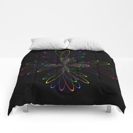 Abstract Perfektion 88 Comforters